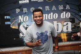 """Programa No Mundo do Samba"" recebe Vitor Velloso. Foto: Igor Cantanhede"