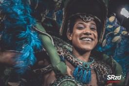 Desfile das campeãs 2020 da Mancha Verde. Foto: SRzd – Bruno Giannelli