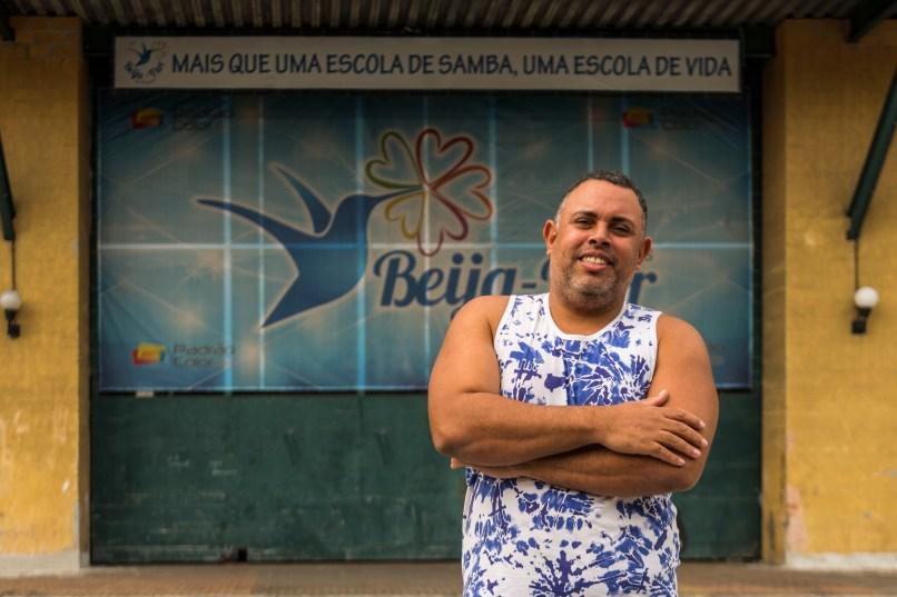 Rodrigo Pacheco. Foto: Eduardo Hollanda/Beija-Flor