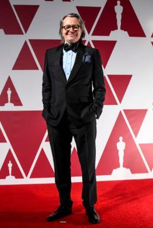 Indicado ao Oscar de melhor ator, Gary Oldman chega ao National Film Theatre, BFI Southbank, em Londres (Foto: Divulgação / ©A.M.P.A.S. – Crédito: AP Photo/Alberto Pezzali, Pool).