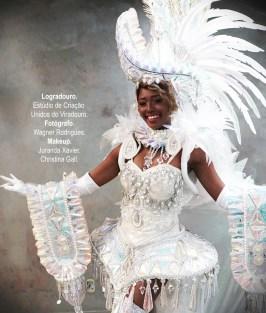 Fantasia de composição da Viradouro para o Carnaval 2022. Foto: Divulgação