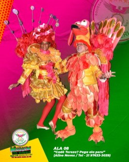 Lins Imperial apresenta fantasias para o Carnaval 2022. Foto: Divulgação