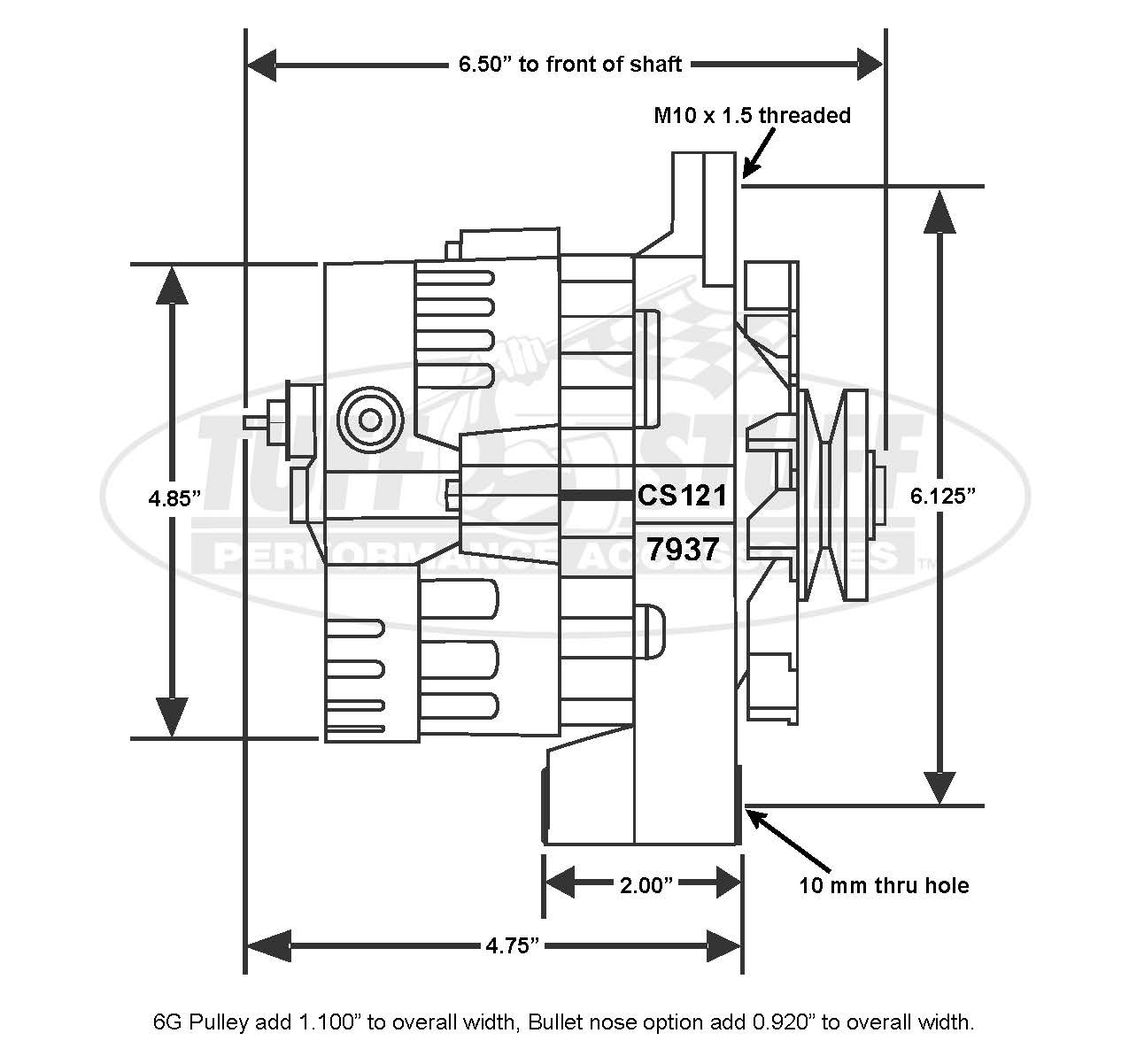 Mini Alternator Wiring Diagram