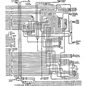 1972 Chevrolet Wiring Diagram