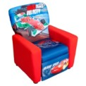 Accent Chair Kids Recliner Delta Disney Cars Upholstered