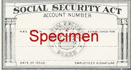 Original SSN Card Design