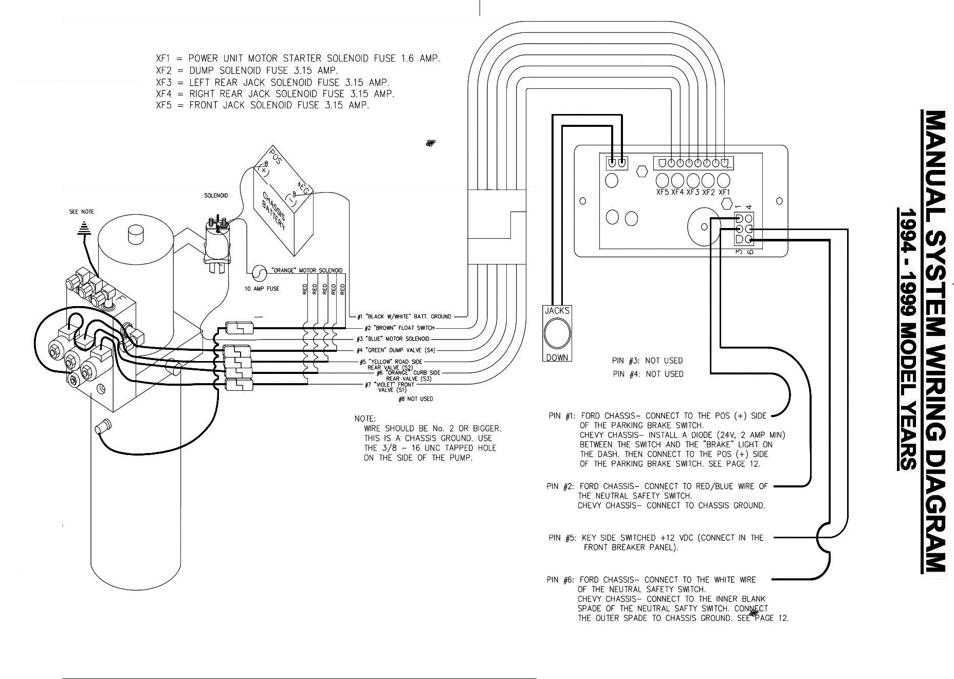 fleetwood motorhomes wiring diagrams dodge ram