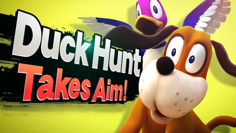 File:SSB4 Newcomer Introduction Duck Hunt.jpg