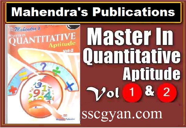 Mahendra's Quantitative Aptitude