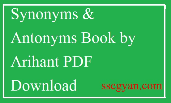 Arihant Books For Ssc Cgl Pdf
