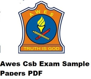 Awes Csb Exam Sample Papers