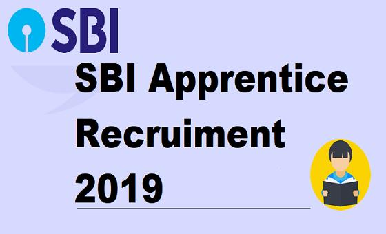 SBI Apprentice Recruiment 2019