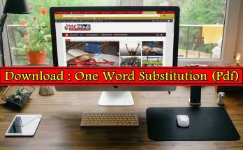 one word-subtitution-pdf-for-ssc