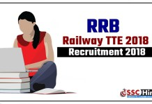 Railway-2500-RRB-TTE-2018-Recruitment