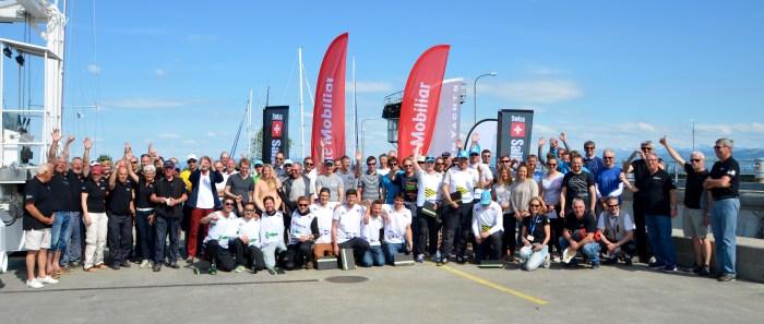 Swiss Sailing Challenge League Romanshorn Teilnehmer und Helfer