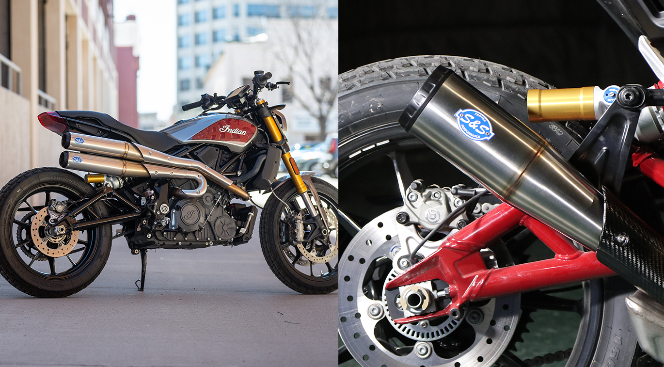 exhaust systems for indian ftr 1200
