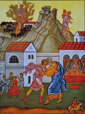 FEB 11 & 12: THE SUNDAY OF THE PRODIGAL SON & COMMEMORATION OF THE MIRACLE OF THE GREAT MARTYR THEODORE (FEB 13)