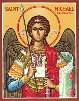 NOV 5 & 6: 25TH SUNDAY AFTER PENTECOST (RESUME STANDARD TIME) & COMMEMORATION OF ARCHANGEL MICHAEL & ALL ANGELS – MICHAELMAS CELEBRATION