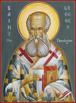 JAN 25: COMMEMORATION OF GREGORY THE THEOLOGIAN