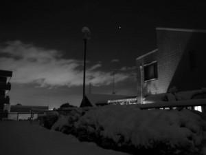 スミス英会話大津校 石山の雪です。