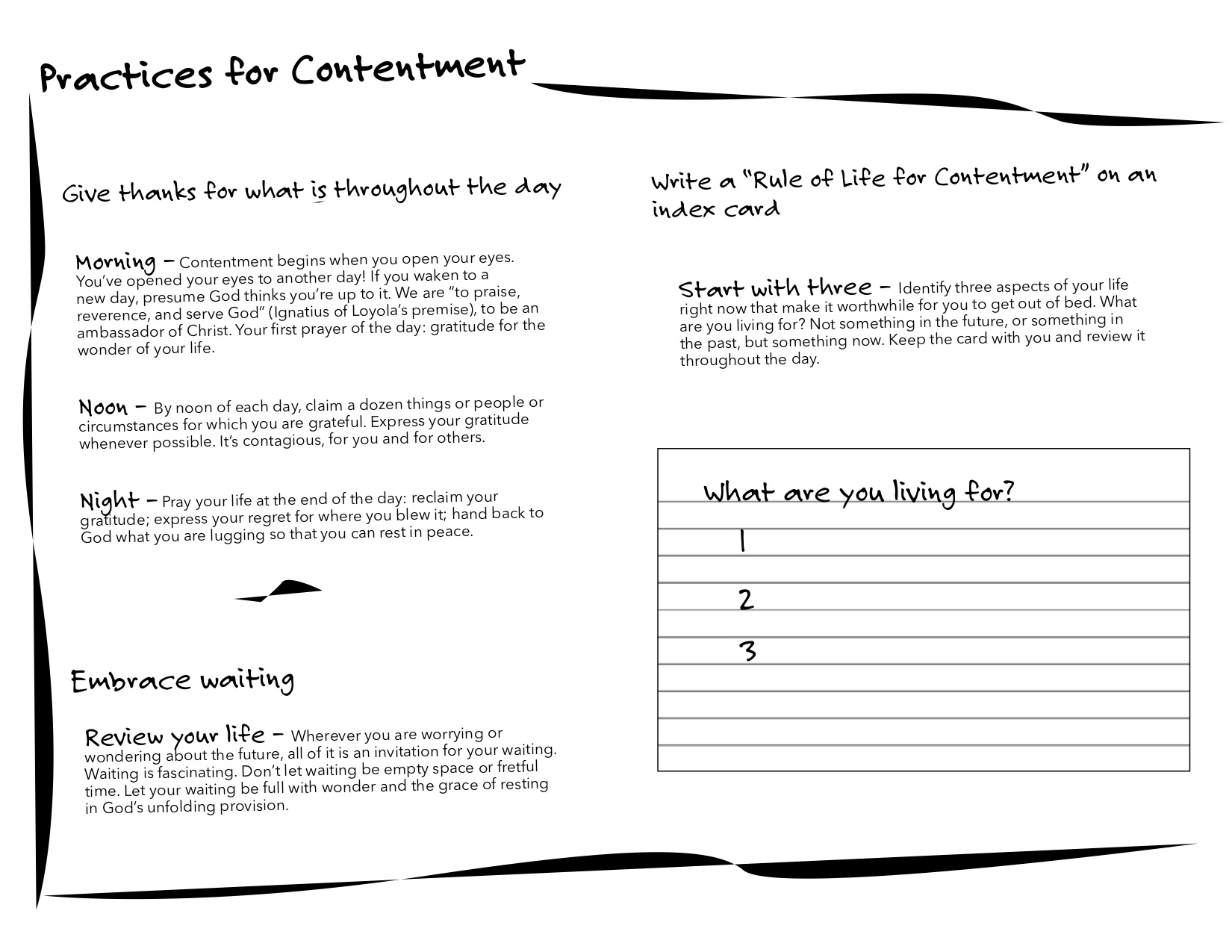 Contentment_Exercise