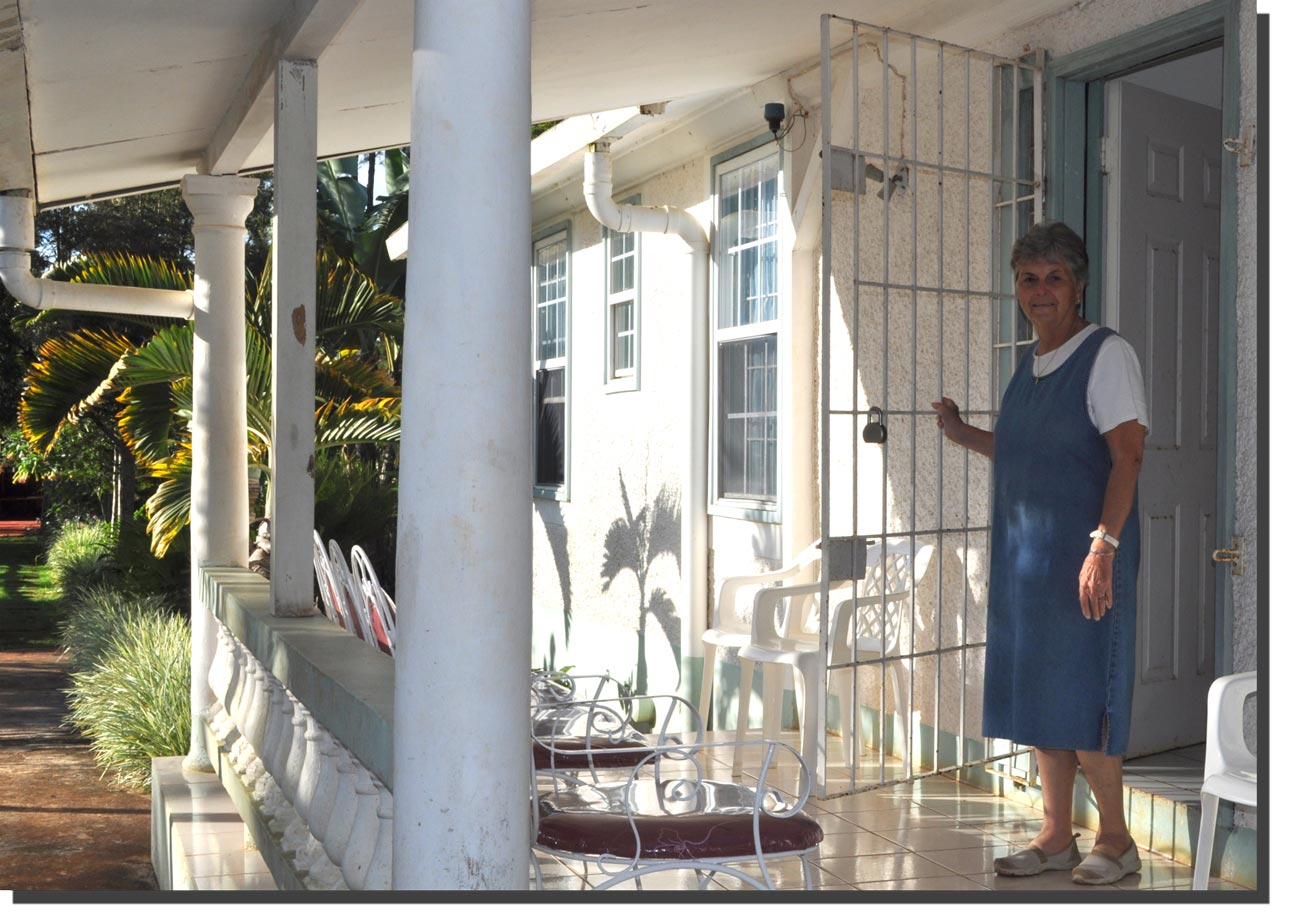 Sister Maureen Kervick has been in Jamaica for the past four years.