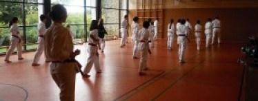 Formenlauf gehört traditionell zum Taekwondo