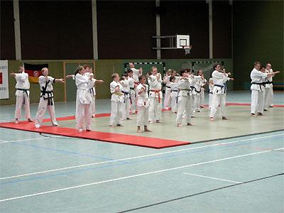 Das SSK-Taekwondo-Team