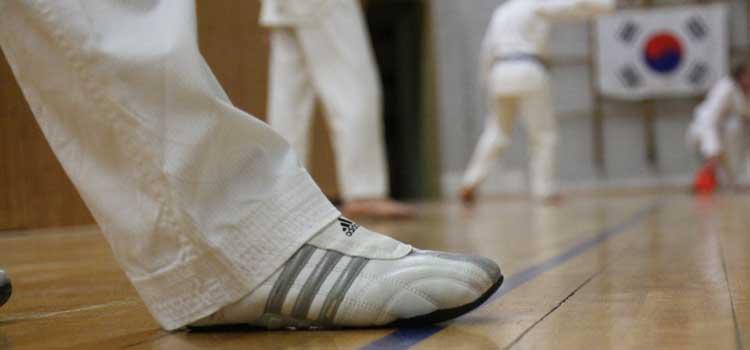Teakwondo Kerpen: Bitte keine Schuhe beim Taekwondo-Training