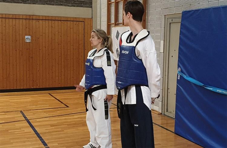 Die nächste Gürtelprüfung für das SSK-Taekwondo-Team kommt mit Sicherheit