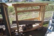 薪小屋2号館、木工工事は完了