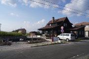 2014年9月14日・お隣の土地で工事開始
