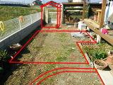 庭造り妄想中、の図