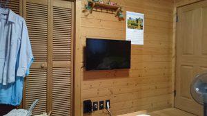 壁掛けテレビ、完成