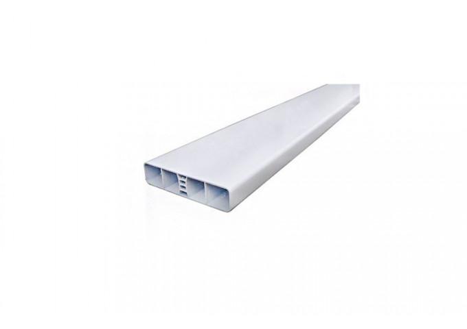 Lame Pvc Blanche 100x20mm Longueur 1 70m