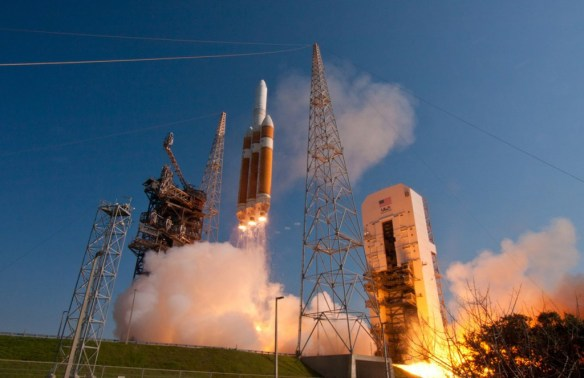 File photo of a Delta 4-Heavy rocket launch in June 2012. Credit: ULA