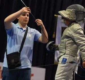 Matteo Martini insieme a Leonardo Amore durante la semifinale. Foto di Augusto Bizzi.