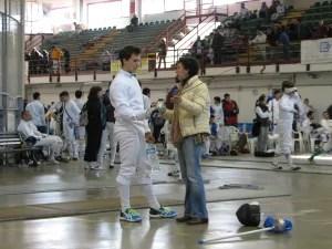 Alessio Neri con Giovanna Ciacchi