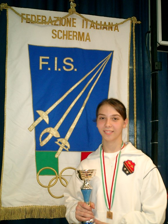 Gran Premio Giovanissimi 2006 - Romina Biaggi 5^ classificata categoria