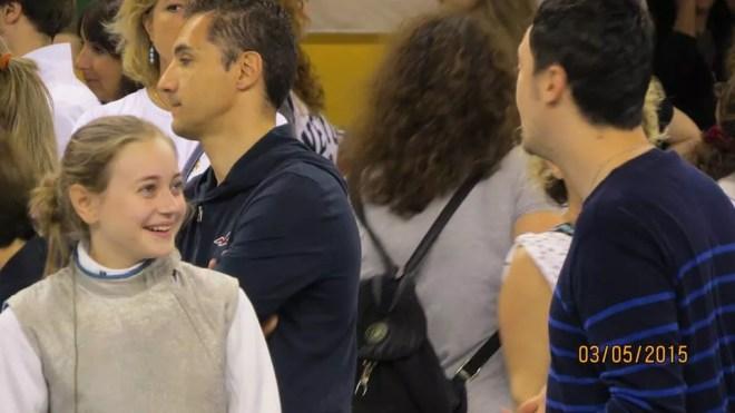 Riccione GPG 03.05.2015 - Angelica Di Luzio... sorrisi bellissimi al Gran Premio Giovanissimi!! (foto L.V.Richichi)
