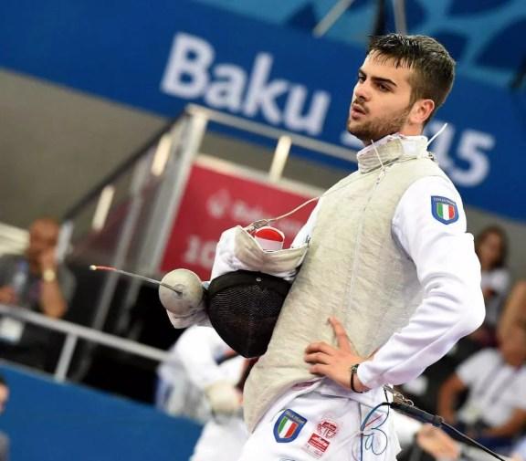25.06.2015 Damiano Rosatelli  (foto Bizzi per Federscherma)