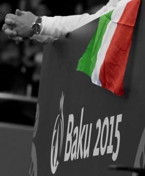 Tutta la poesia dei Giochi di baku e l'anima italiana in questa foto del fotografo della scherma, Augusto Bizzi!