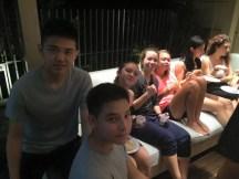 05.08.2015 Cena tipica singaporiana... ospitalità squisita