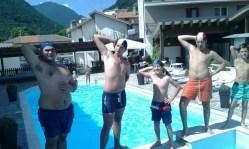 Massimo De Angelis, Adriano Gatti, Ken Casalino e Francesco Ercolani