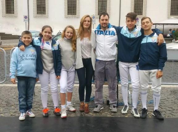 Guido De Bartolomeo ed Elena Sofia Manca  presenti domenica pomeriggio alla Festa dello Sport