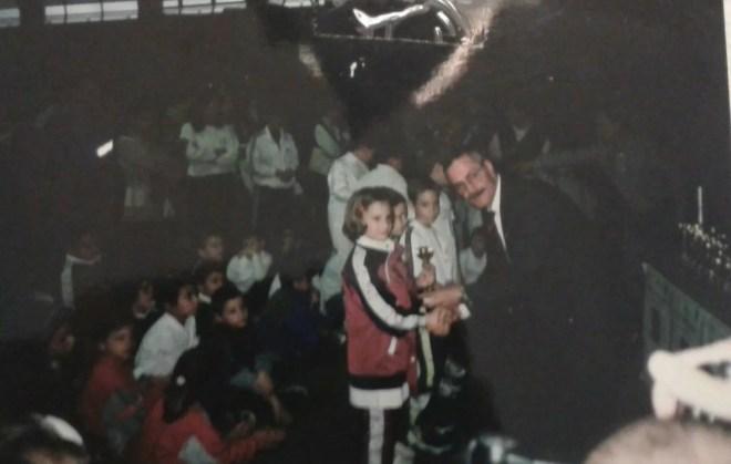 Elena Sofia premiata da Ezio Rinaldi