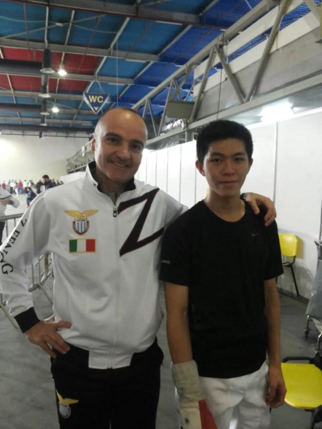 14.11.2015 Plovdiv (BUL)  Coppa del Mondo U20  Vincenzo Castrucci e Nicholas