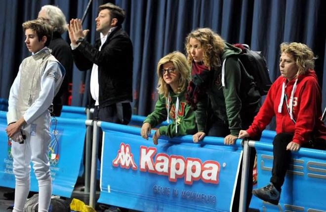 Montecatini 17.01.2016 2^ prova nazionale cadetti  Cristian Troìa (foto Bizzi/Trifiletti per Federscherma)