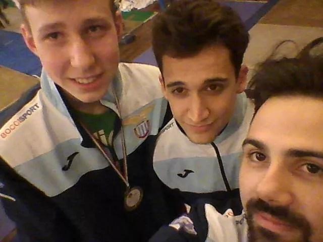 13.02.2016 Trevi Trofeo del Sabato Michael Sica, Alessio Neri e Michael Borro