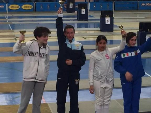 01.04.2016 Baronissi 3^ prova interregionale U14 Alessia Piccoli Oro nella categoria Giovanissime di Sciabola (foto E.Gangi)